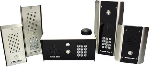 cell phone door entry intercoms