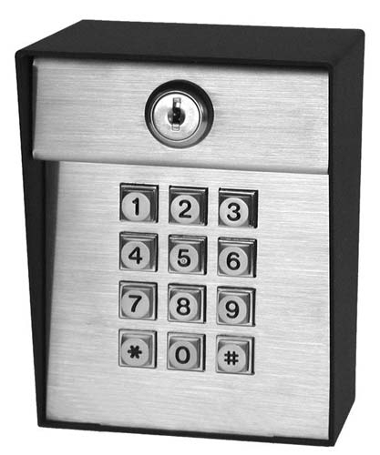 Post-Mount Digital Keyless Entry Keypad