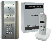 Handset Door Intercom System with Keypad