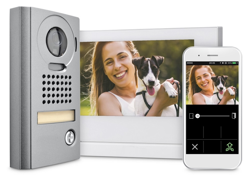 Large Screen Mobile Ready Video Intercom