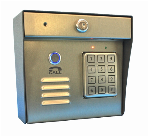 Simultaneaous Talk and Receive Addon Callbox with Keypad
