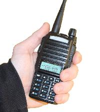 Dual Talk Buttons MURS Two-Way Radio