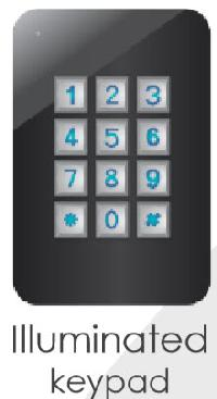 Illuminated Keypad