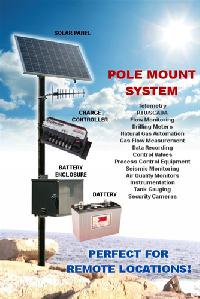 30 Watt Pole Mount Solar Power Kit