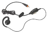 CLP Earpiece with in-line PTT mic (rests on the ear)