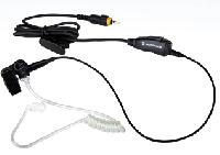 CLP Surveillance Earpiece with Inline PTT & Microphone