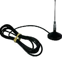 Magnetic Mount UHF Antenna with 12 Feet of Coax Cable
