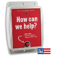UHF Indoor/Outdoor Customer Service Callbox High Power 1 Watt