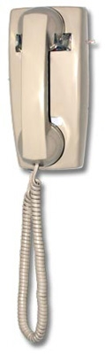 Wallmount Manual No Dial Phones with Ringers
