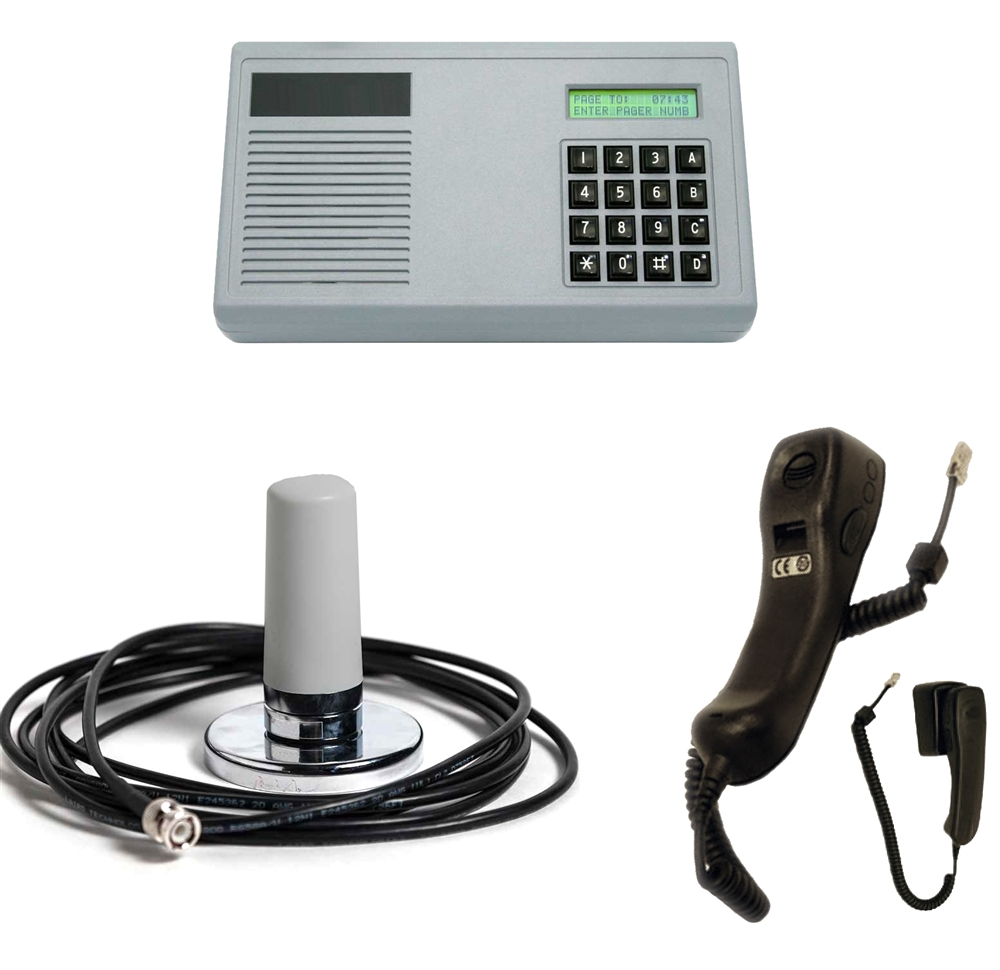 Wireless Gas Station Intercom System - UHF