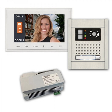 Long-Distance Two-Wire Video Intercom