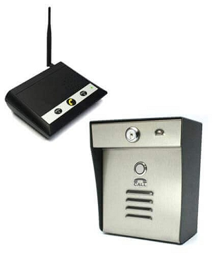 Hands Free Speakerphone Wireless Gate System