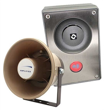 Truck Scale Add-On Callbox with Horn Speaker