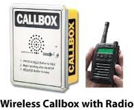 Wireless call box