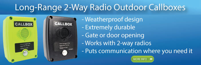 2-way radio callbox