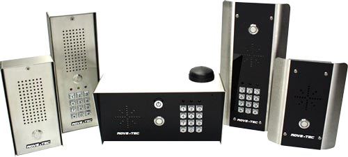 cell phone door entry intercoms