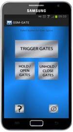 GSM Intercom Smartphone App