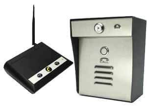 Wireless no touch intercom