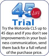 Motorola CLP1040 45 day trial