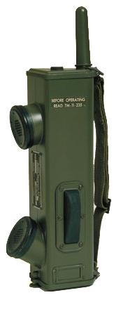 Motorola First Handheld Two Way Radio