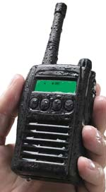 oil rig two way radio