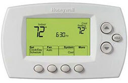 Honeywell thermostat for disabled