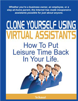 Clone Yourself outsourcing virtual assistant book cover
